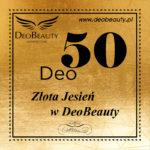 Deo50 – złota jesień w DeoBeuaty, sprawdź promocje !